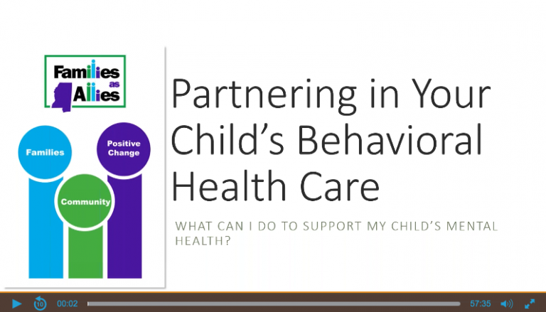 Webinar - What Can I Do to Support Your Child's Mental Health