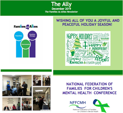 The Ally - Newsletter - Families as Allies