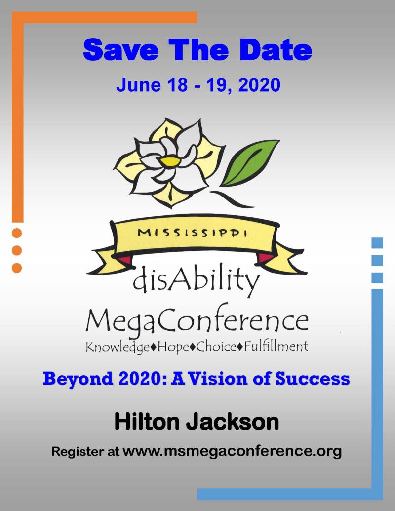 2020 Mississippi Disability Conference - Families as Allies