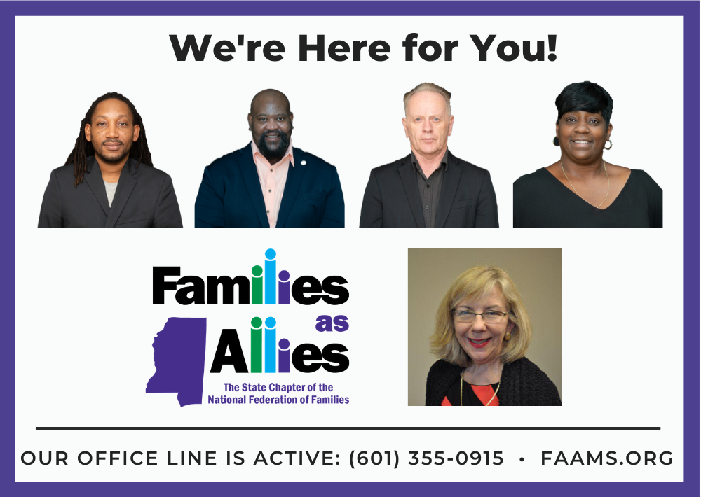 Families: We Support You During the COVID-19 Outbreak