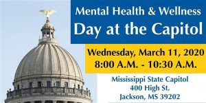 Mental Health Day at the Capitol 2020 - Families as Allies