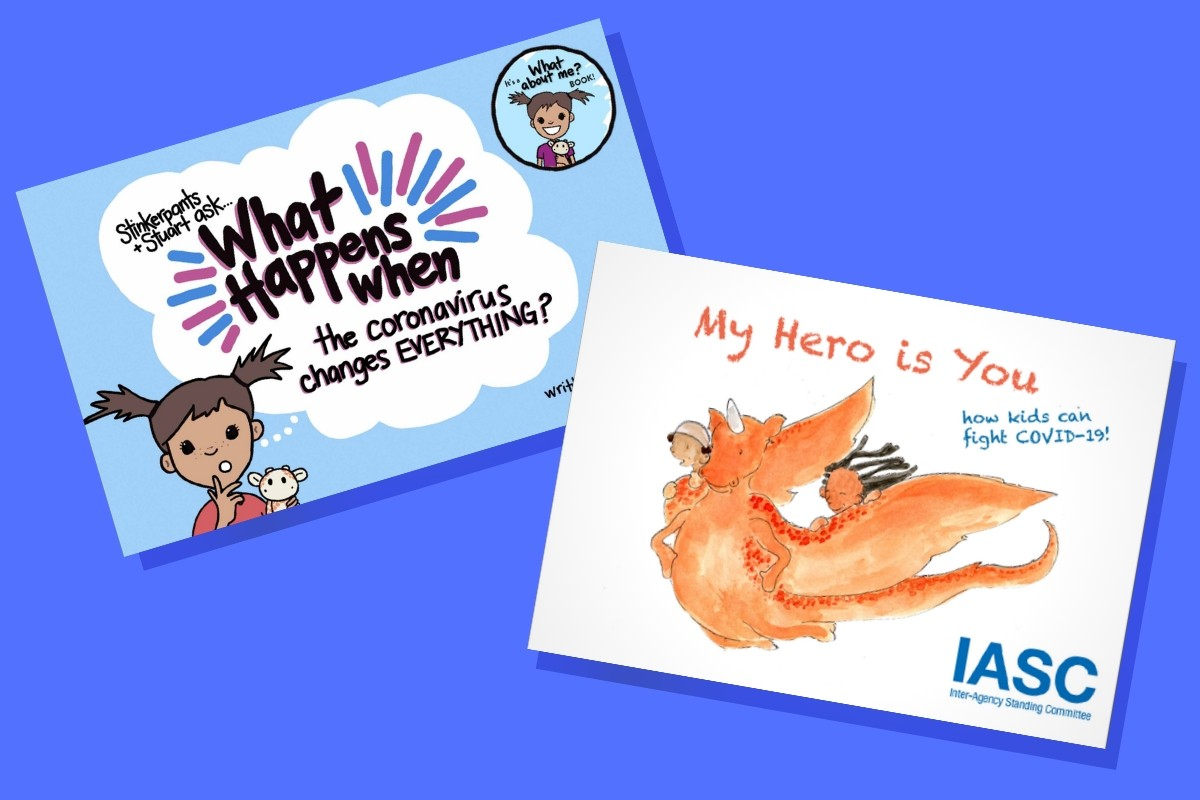 Read more about the article Two Free Books Help Parents and Kids Cope With COVID-19