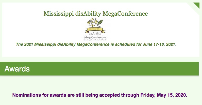 Nominations are Open: Champion of the ADA and IDEA