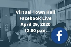 Facebook Live Town Hall This Wednesday
