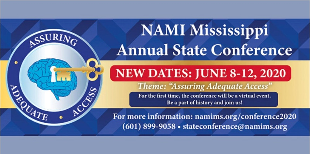 NAMI Mississippi 2020 State Conference: Families as Allies on Friday