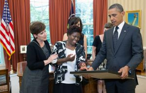 Barack Obama and Lois Curtis - Families as Allies