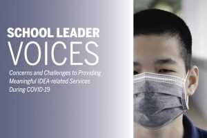 Read more about the article School Boards and Superintendents Associations Share Their Concerns about Serving Children with Disabilities during COVID