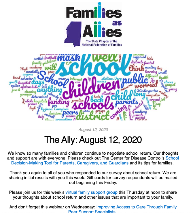 Aug 12 2020 - The Ally - Families as Allies