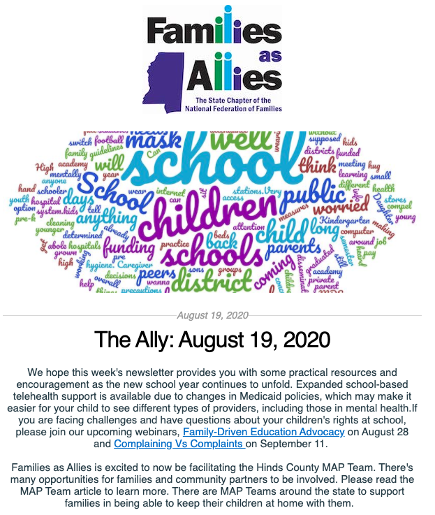 Aug 19 2020 - The Ally - Families as Allies
