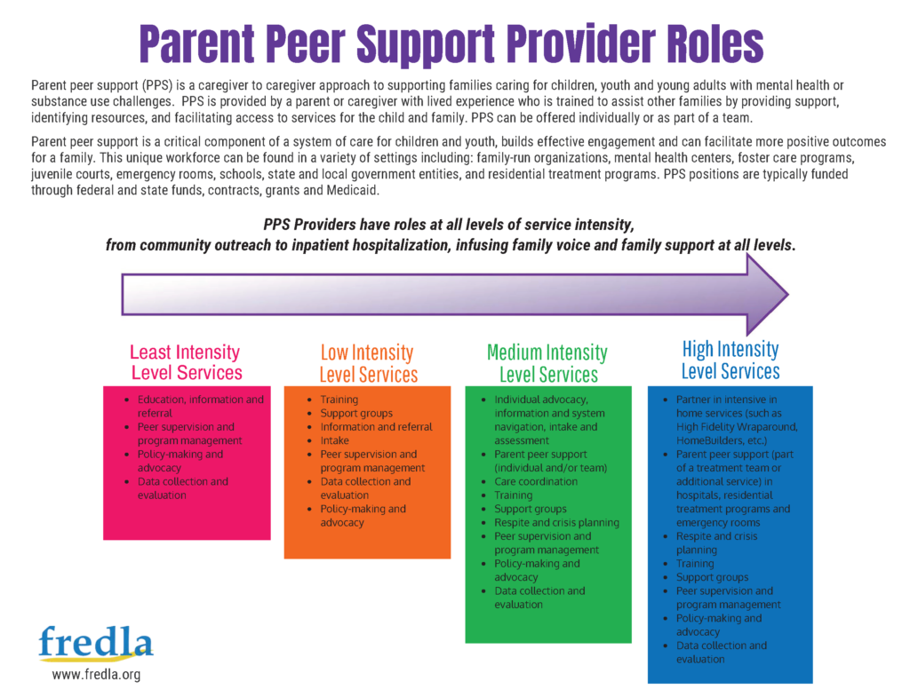 Parent Peer Support Providers - Families as Allies