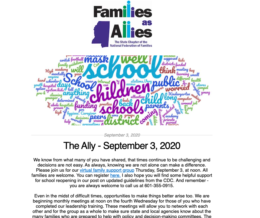 The Ally 090320 - Families as Allies