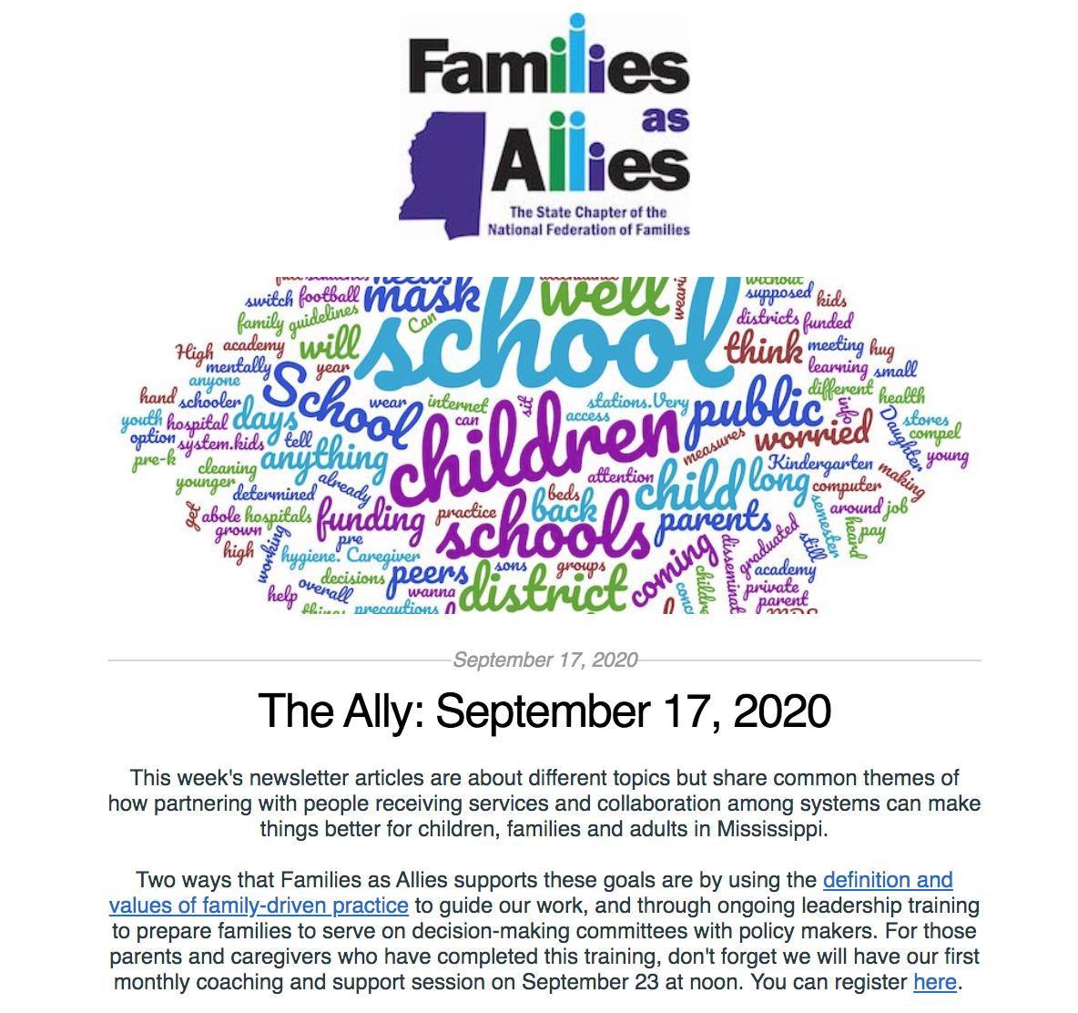 The Ally: September 17, 2020