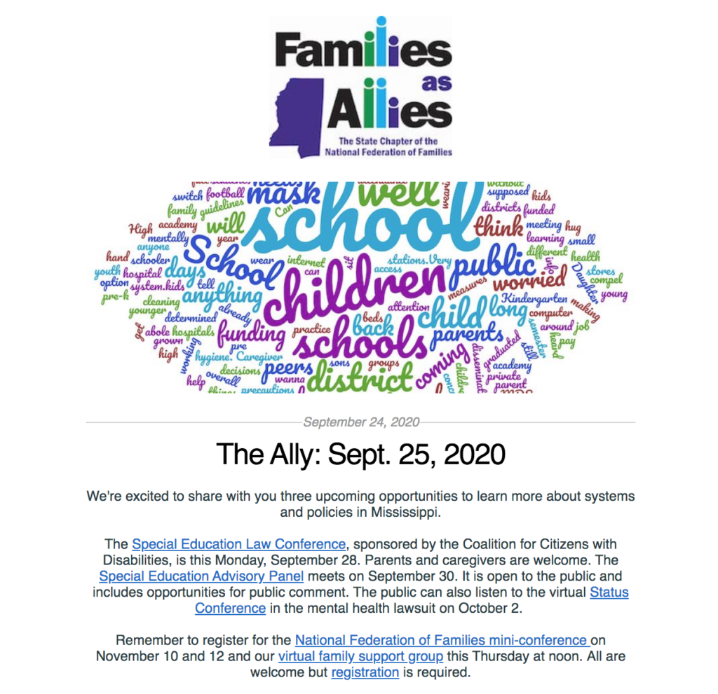 The Ally: Sept. 25, 2020