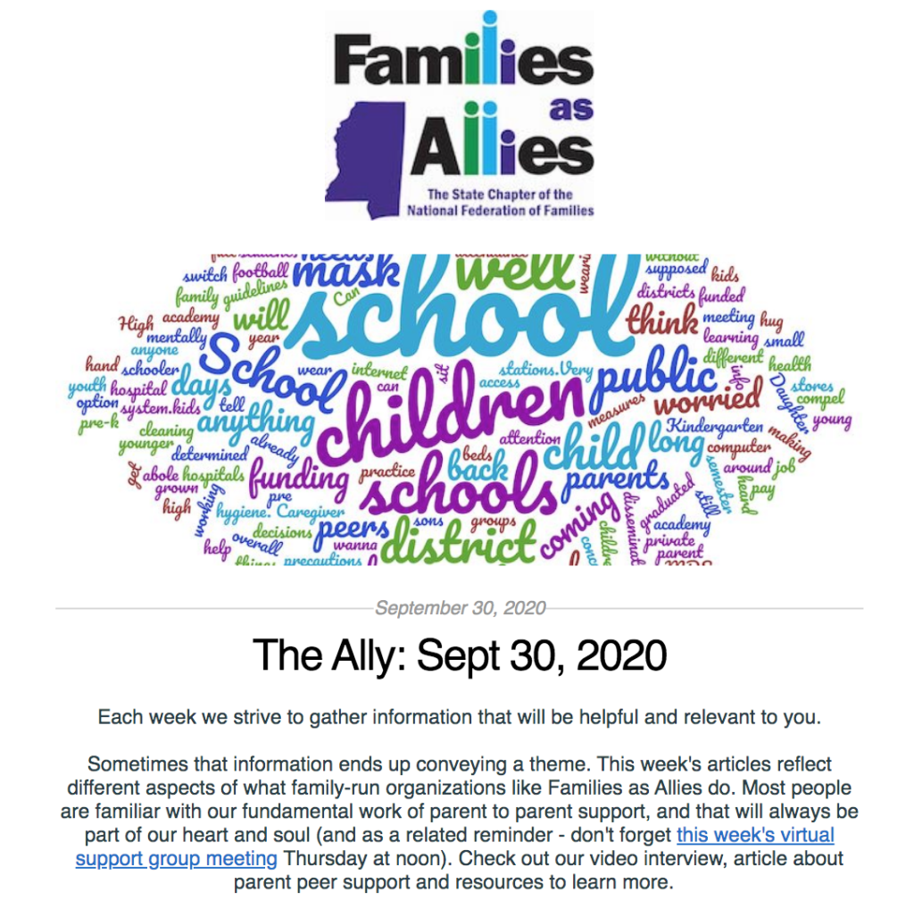 The Ally: Sept 30, 2020