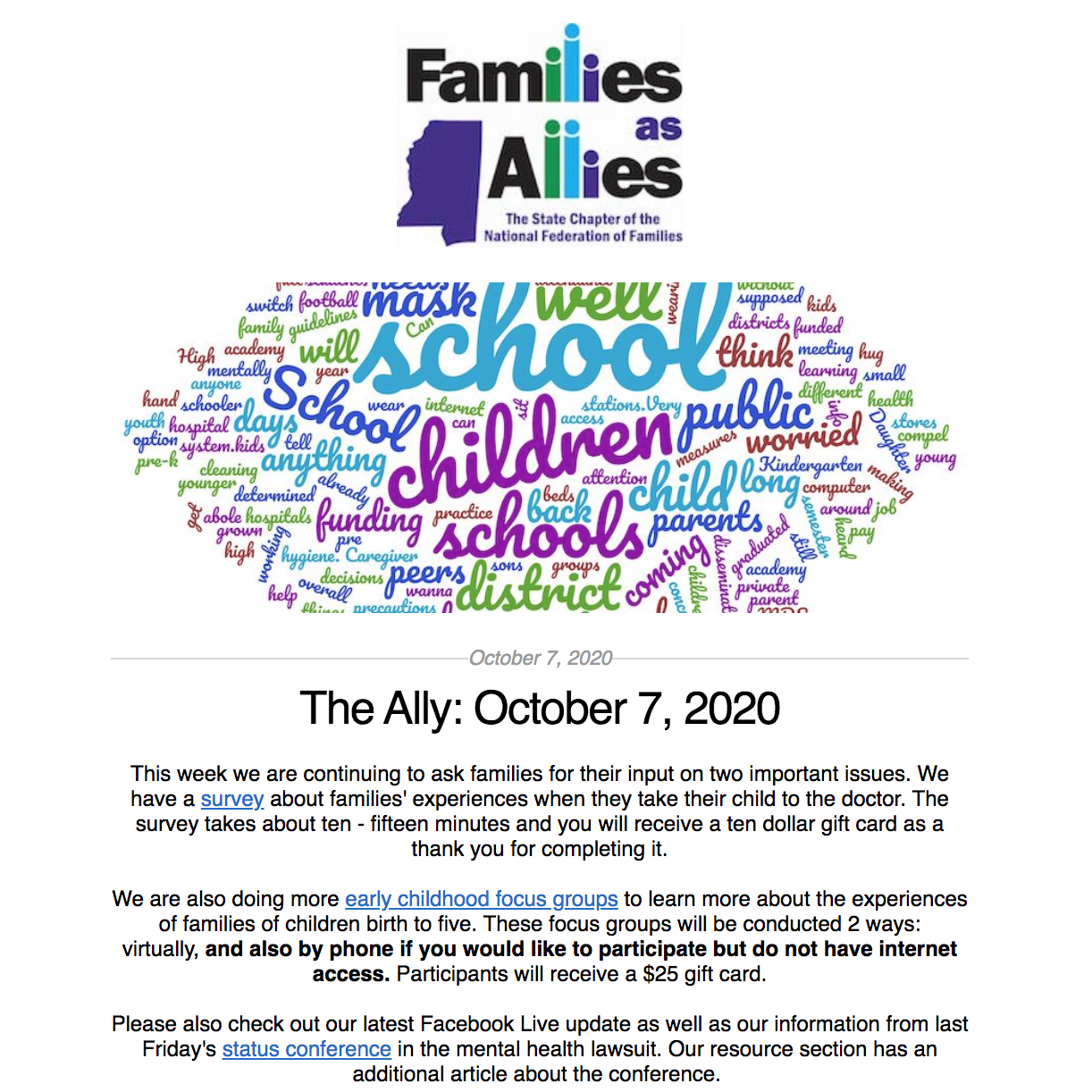 The Ally: October 7, 2020