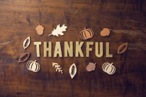 From the Executive Director: I Am Thankful