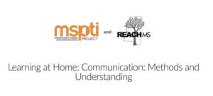 Learning at Home Webinar - MSPTI