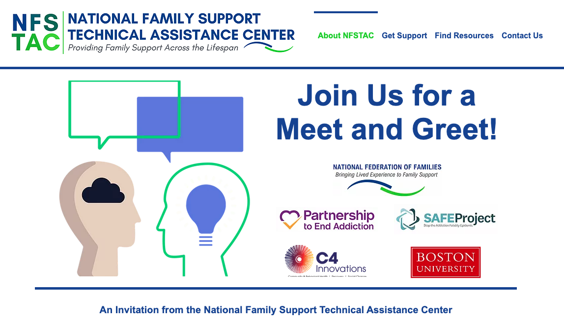 National Family Support Technical Assistance Center Meet and Greet