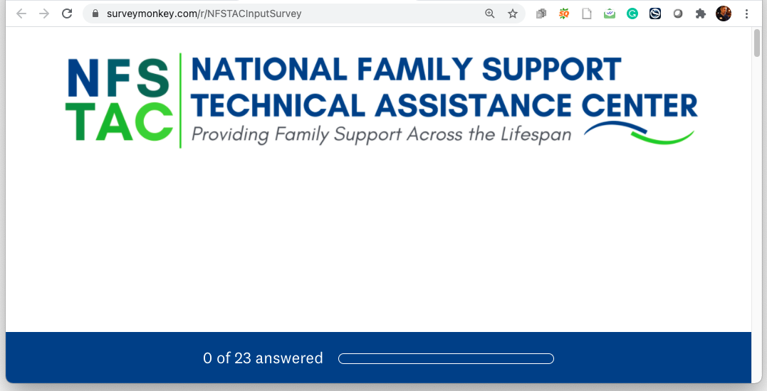 Please Take the NFSTAC Survey – We Need Your Input!
