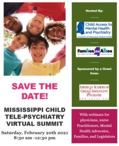 mississippi child telepsychology virtual summit - families as allies