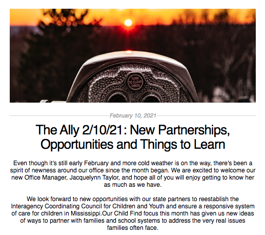 The Ally: February 10, 2021