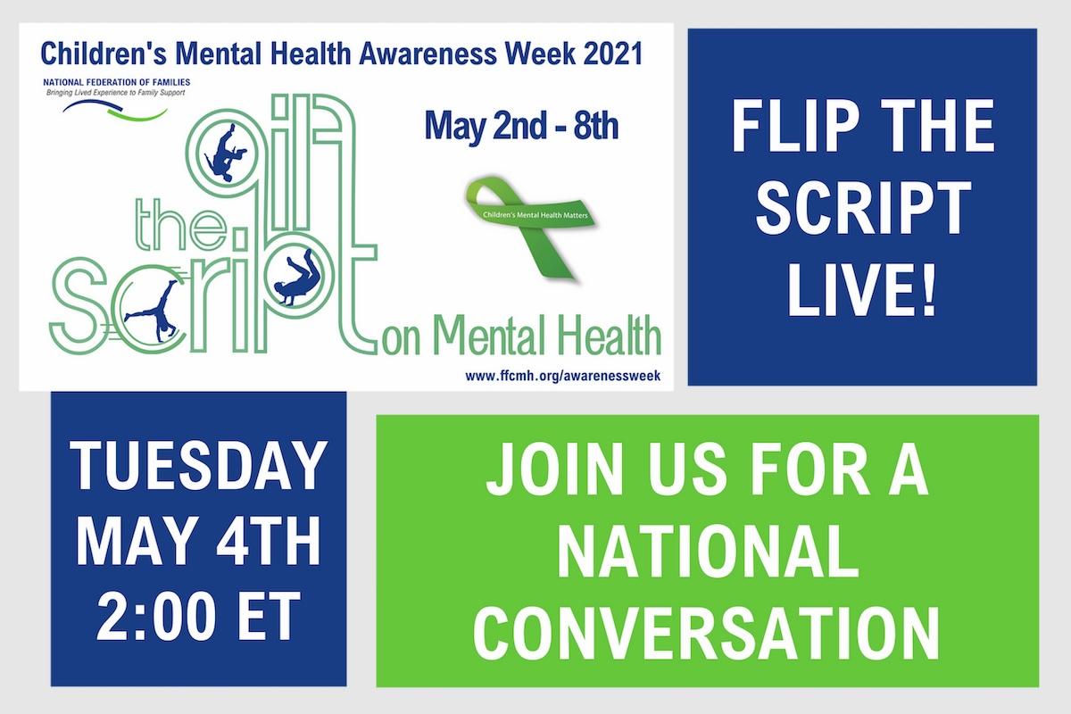 Children's Mental Health Awareness Week is May 2 – 8
