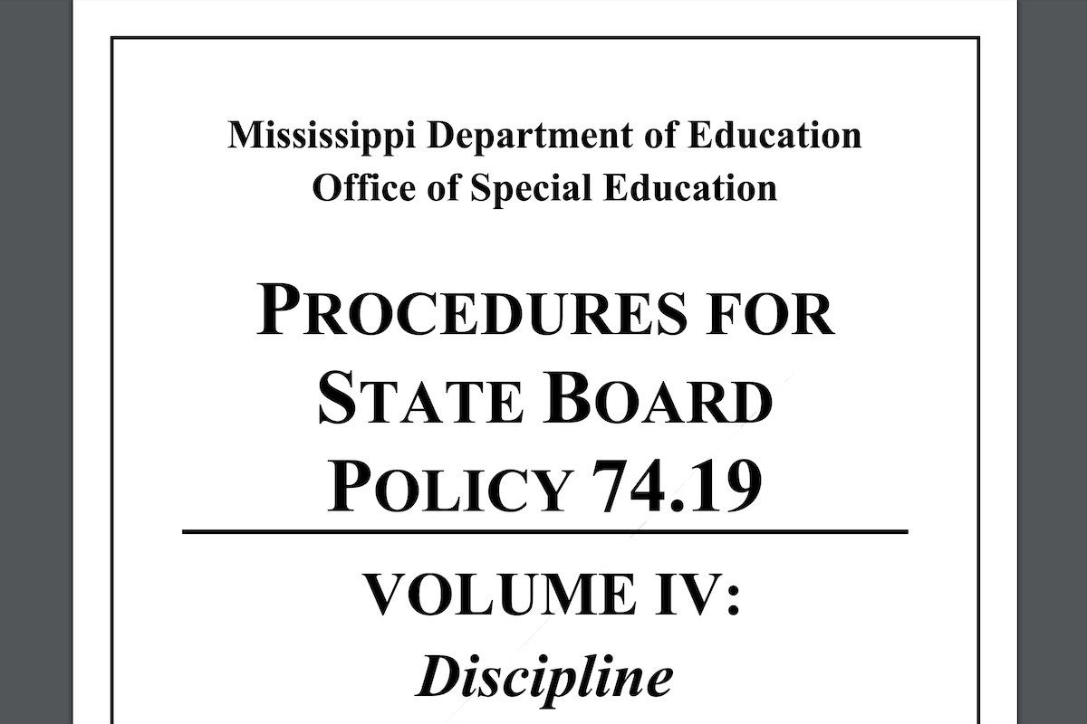 You are currently viewing Helpful Information On Special Education and Discipline from MDE