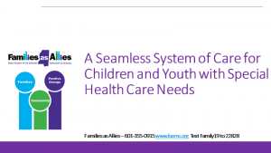 Seamless System of Care Webinar - Families as Allies