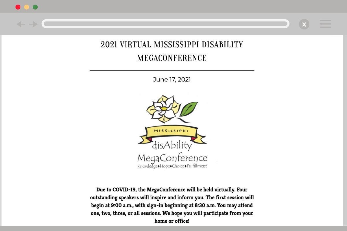 Read more about the article Register Now for Mississippi DisAbility Megaconference on June 17
