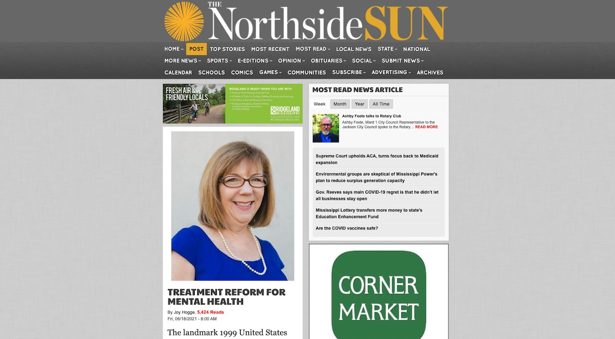 You are currently viewing Joy Hogge Column on 'US v Mississippi' in the Northside Sun