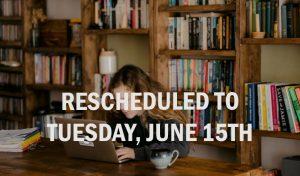 Webinar Rescheduled