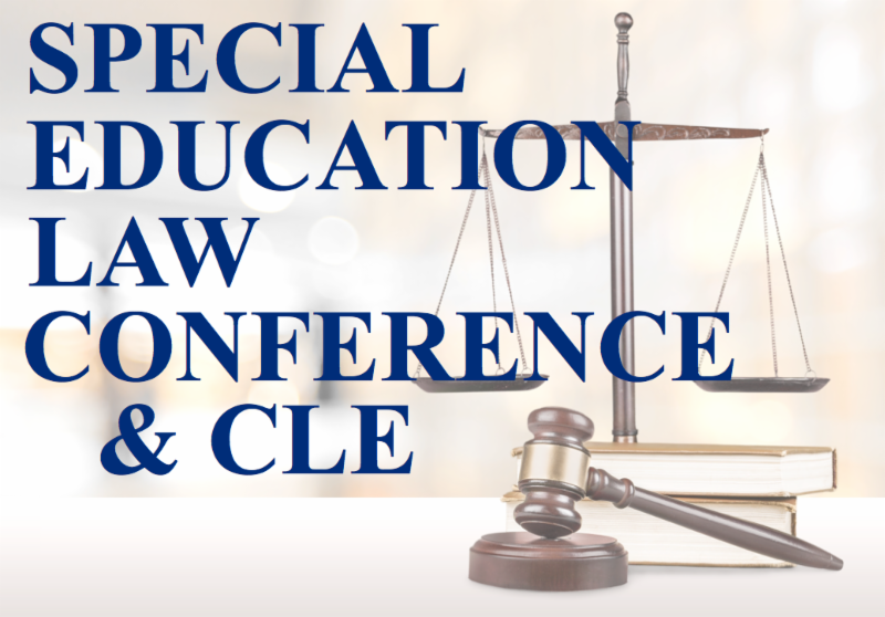 The Coalition for Citizens with Disabilities Presents Seventh Annual Special Education Law Conference & CLE flyer