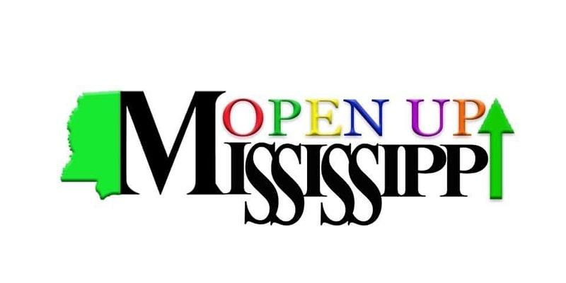 Open Up Mississippi logo