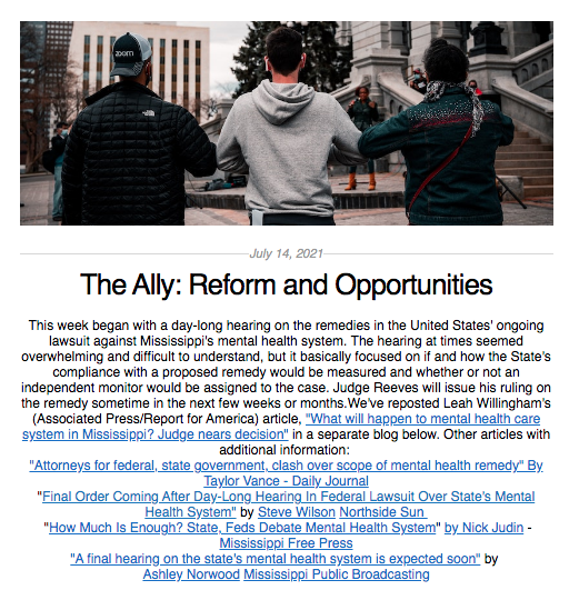 the ally july 14 2021