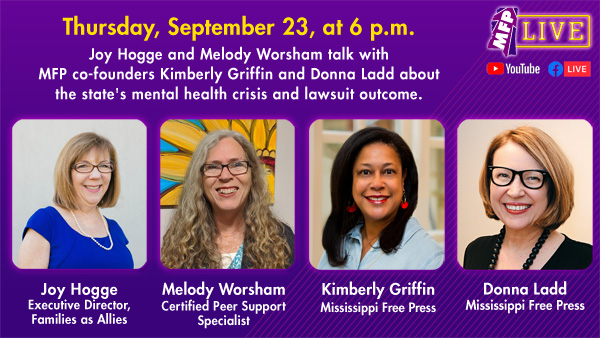 Read more about the article We're On 'MFP Live' Discussing Mental Health on Thursday, Sept. 23