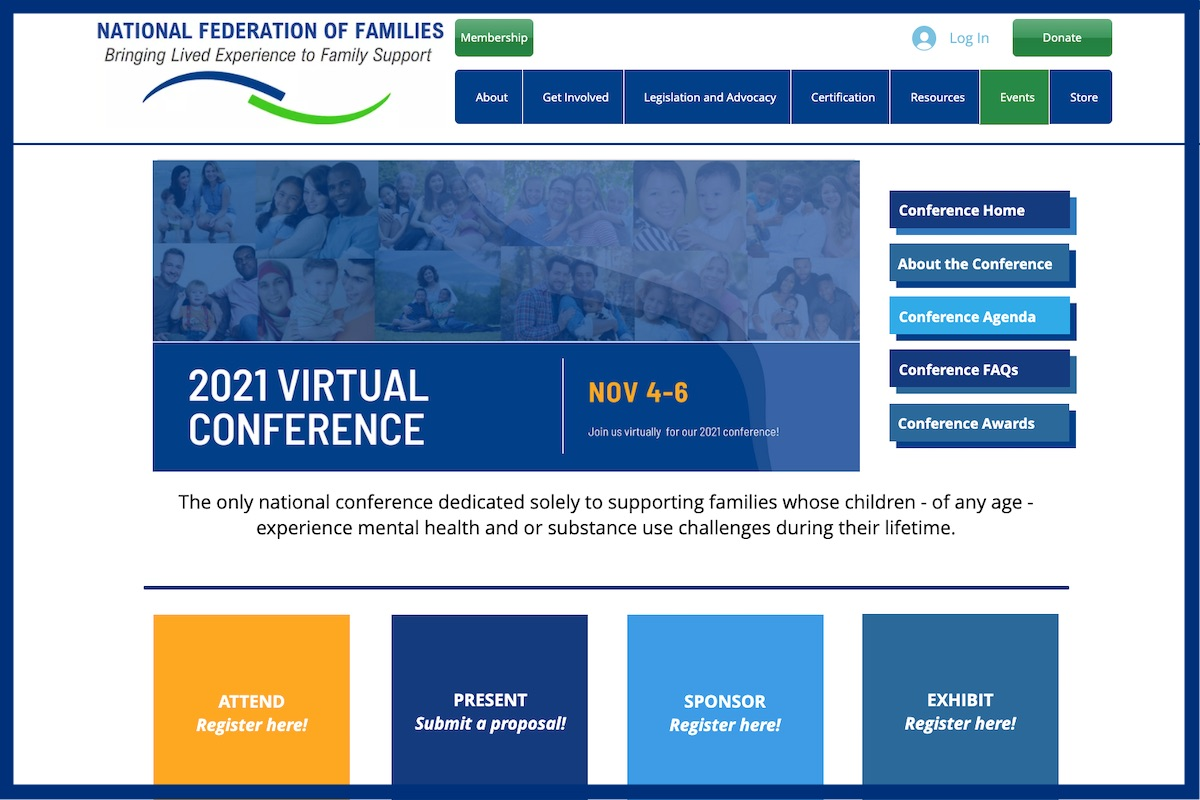 You are currently viewing Call for Sponsors: 2021 National Federation of Families (Virtual) Conference