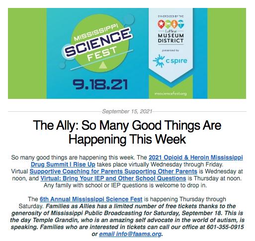 The Ally: September 15, 2021