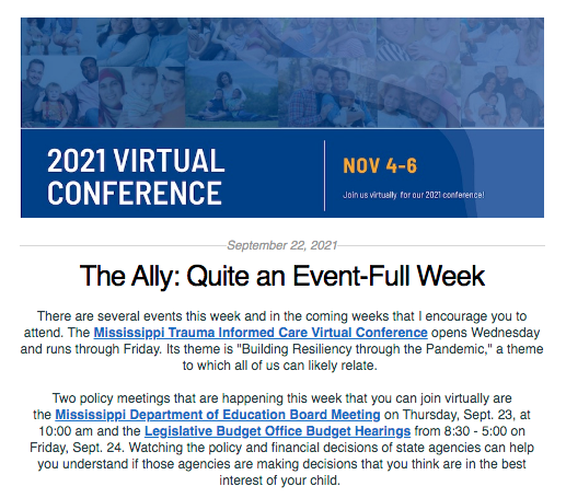 The Ally: September 22, 2021