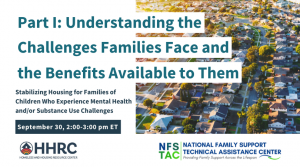 Flyer for Understanding the Challenges Families Face and the Benefits Available to Them